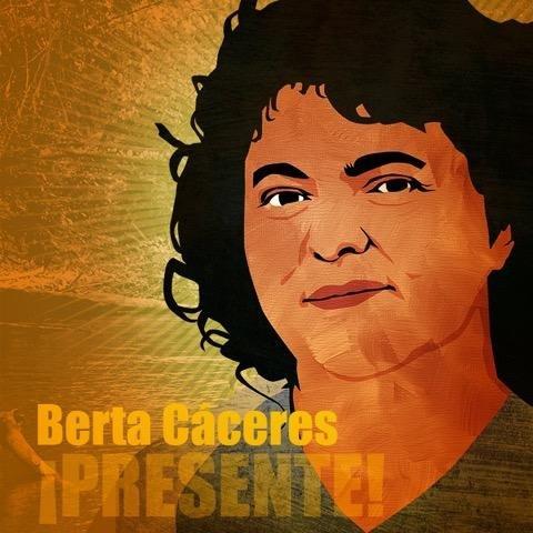 Berta Caceres (@justiceforberta )