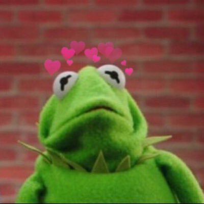 Kermit With Hearts