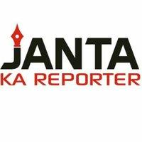Janta Ka Reporter twitter profile