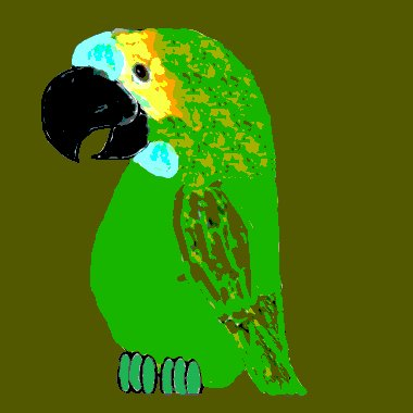 Dolly the Parrot