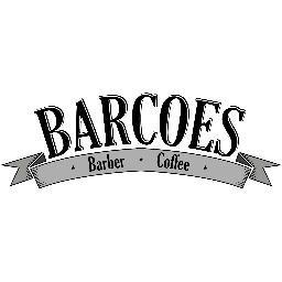 Hasil gambar untuk logo barcoes barber coffee