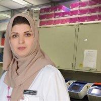 Fatima Alhamlan, PhD twitter profile
