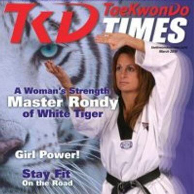 Image result for rondy mckee white tiger taekwondo
