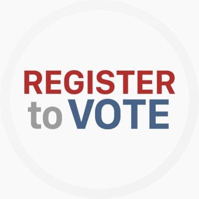 register to vote registertovote twitter