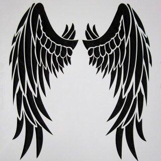 背中にはえた翼は