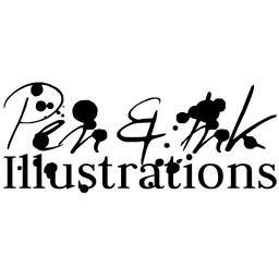 Pen Inkillustration Pen Ink Brick House And Building T Co Evksdmogkv Brickbuildings Handdrawn Illustration Penink
