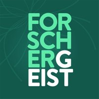 Logo des Forschergeist-Podcasts bei Twitter