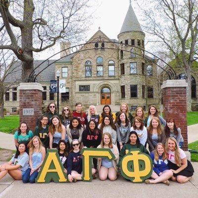 example of a sorority group alpha gamma phi