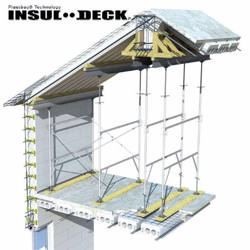 Insul deck insuldeck twitter for Icf concrete roof
