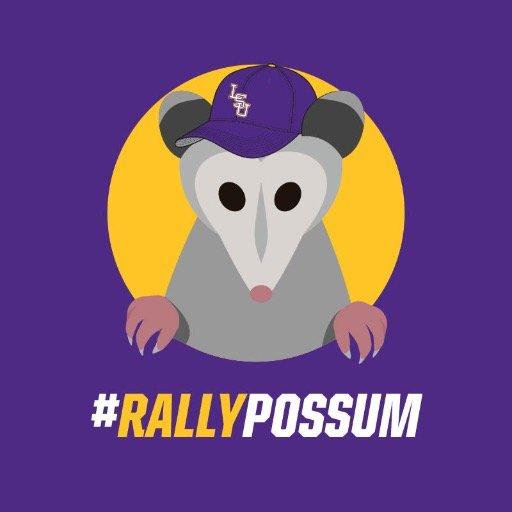 lsu rally possum   realrallypossum  twitter lsu clip art helmet lsu clipart borders