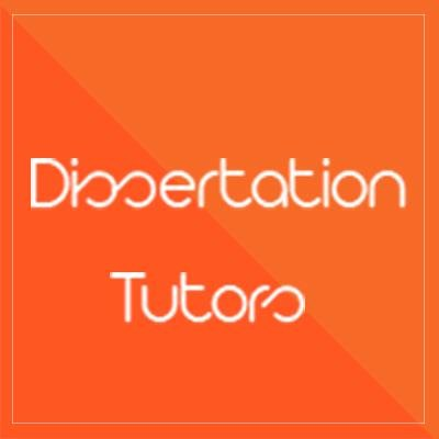 Dissertation tutors