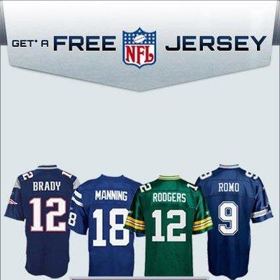 free jerseys nfl