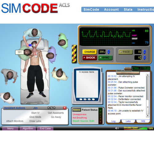 simcode acls