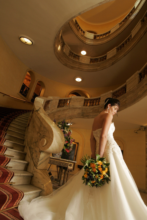 One whitehall place london wedding dress