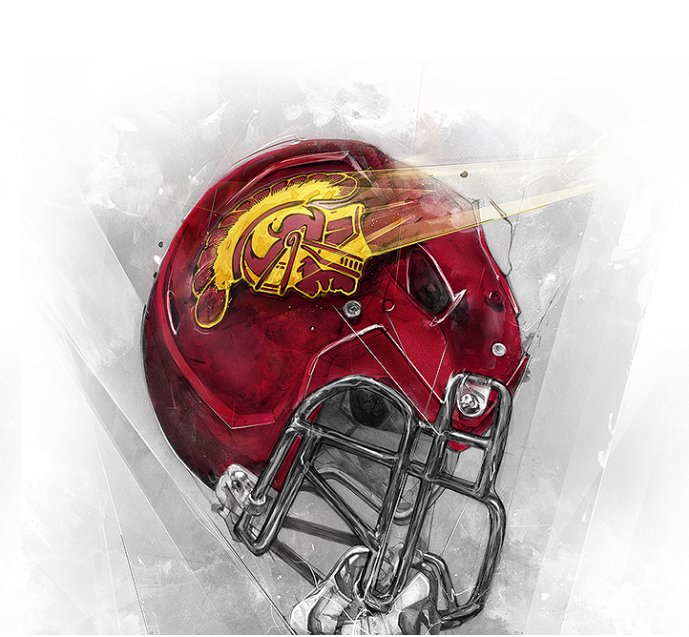 USC Trojans Football Social Profile