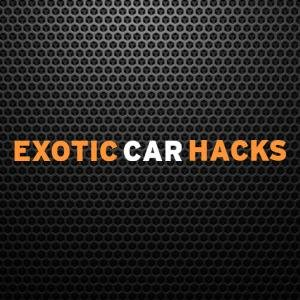 exotic car hacks   course under 500