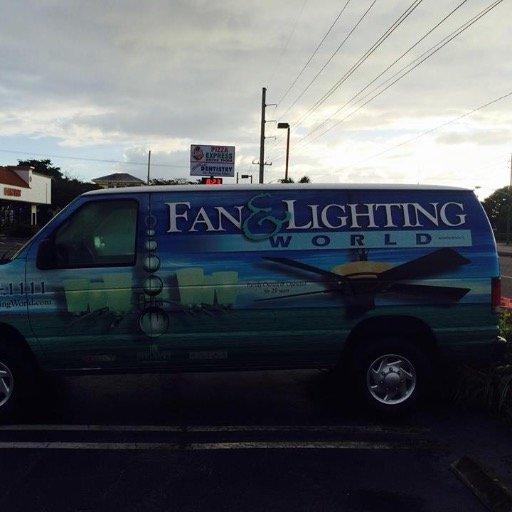 Fan Lighting World FanAndLights Twitter