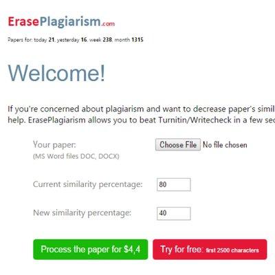 write check plagiarism