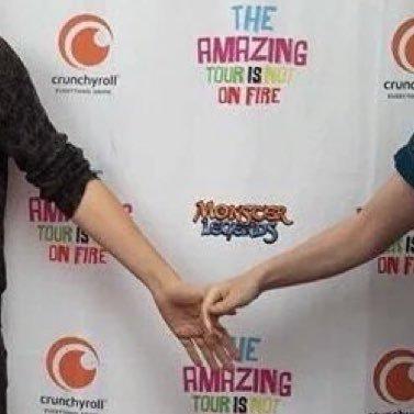 Phan Holding Hands PhanHeldHands