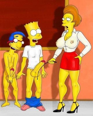 Die simpsons von pornos Die Simpsons