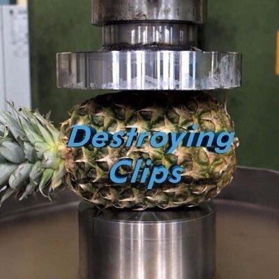 Destroying Stuff (@DestroyingClip) Twitter profile photo