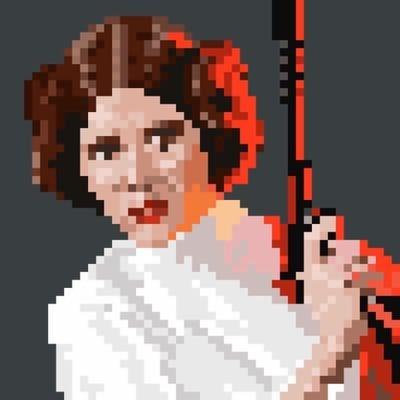 Star Wars Pixel Art On Twitter Hey Look Its At Alantudyk In