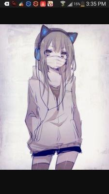 random anime girl animemaker737 twitter