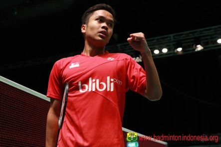 team anthony ginting