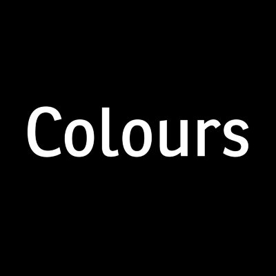 Colours | Social Profile