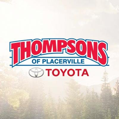 Thompson Toyota Placerville >> Thompsons Toyota Thompsons Toy Twitter