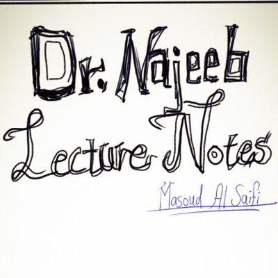 Dr  Najeeb Notes (@DrNajeebNote) | Twitter