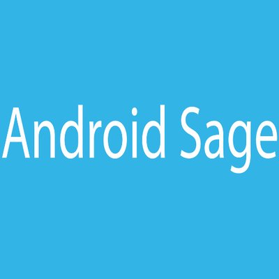 AndroidSage on Twitter: