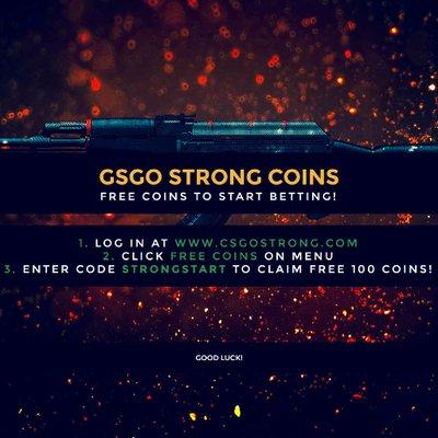 csgo strong coins csgostrongcoins twitter