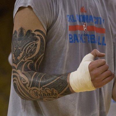 steven adams 39 tattoo stevenadamstat twitter