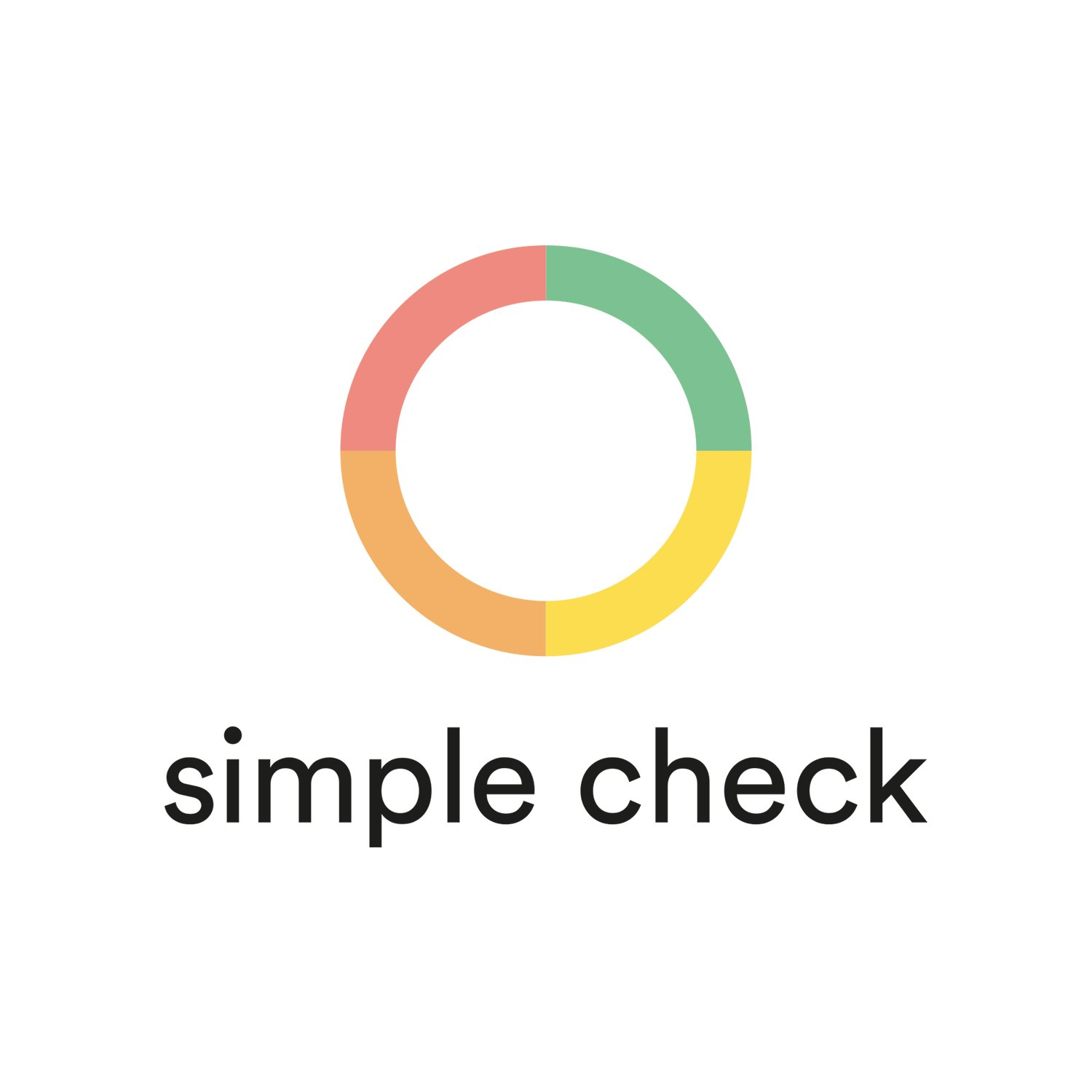 simple check