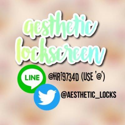 aesthetic-lockscreen (@aesthetic_locks) | Twitter