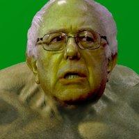 GREEN Bernie Photoshops