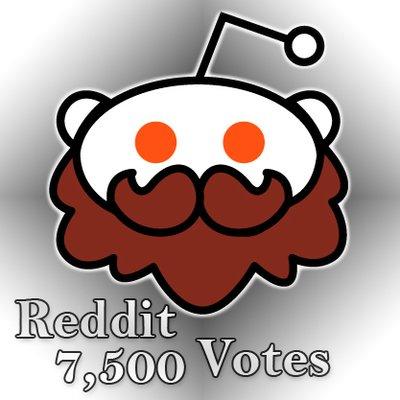 Reddit Top 75k on Twitter: