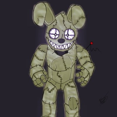 Nightmare Plushtrap At Mrderp24 Twitter
