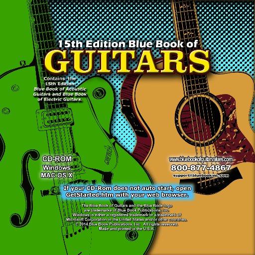 of electric guitars blue book