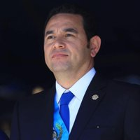 Jimmy Morales twitter profile