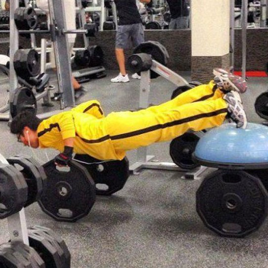 Weird Gym Photos 7