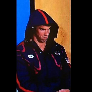 Image result for michael phelps evil