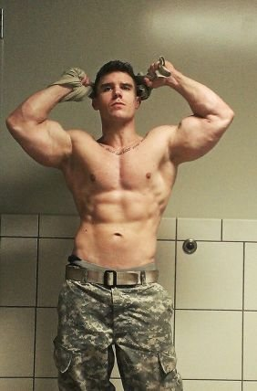 hot male soldiers