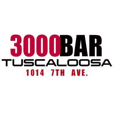 3000 bar tuscaloosa