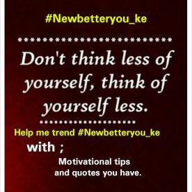 Newbetteryou Ke On Twitter Money Only Impresses Lazy Girls When