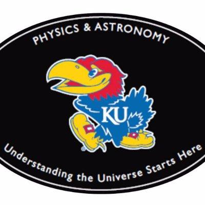 🚲KU Physics and Astronomy☠ (@KUPhysicsAstro) Twitter profile photo