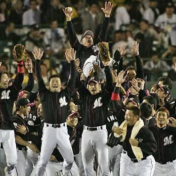 L・O・TTE オーロッテコール。 2005年の日本シリーズ第1戦、ハッキリとL・O・TTEが聞こえます。 皆さん、声出しましょう! chibalotte https://t.co/kcS6R3zbpV