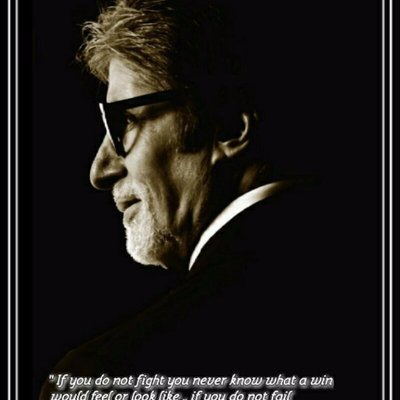 Twitter profile picture for Amitabh Bachchan