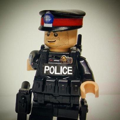Lego Cop In Gta